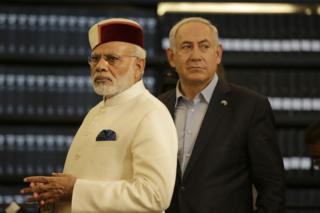 नरेंद्र मोदी, इसराइल