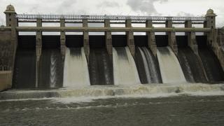 Amaravathi Dam, Coimbatore District, Tamil Nadu, India