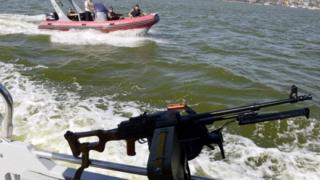 Катера в Азовском море