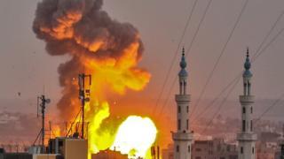 Взрыв в Секторе Газа 20 июля