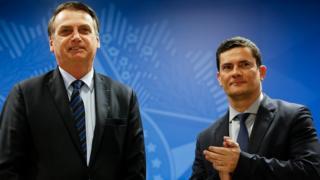 Chance de tirar pasta da Segurança Pública de Moro 'no momento é zero', diz Bolsonaro
