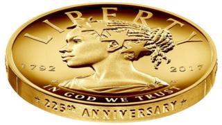 Design for new coin featuring Lady Liberty as a black woman