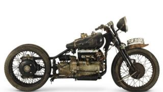 A 1938 Brough Superior 982cc