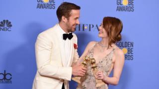 Ryan Gosling y Emma Stone.