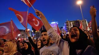 Protesta en Turquía