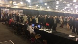 Doncaster council election count