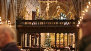 Rood screen, Wakefield Cathedral
