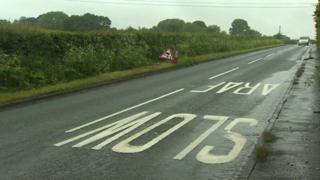 A5104 near Treuddyn