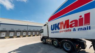 UK Mail depot