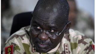 Chief of Army staff Yusuf Buratai