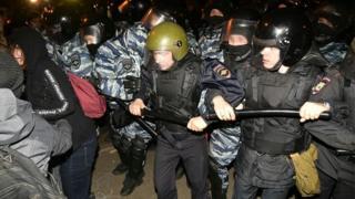 Задержания в Екатеринбурге