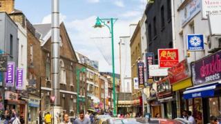 """Résultat de recherche d'images pour """"الحي الذي يحتفي بتعدد الثقافات في لندن"""""""