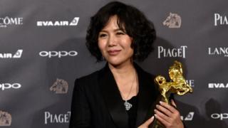 身兼独立导演、编剧、制片人多重身分的中国导演文晏。