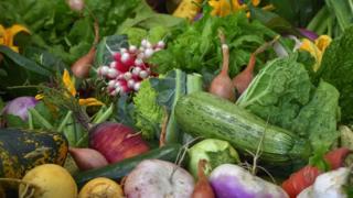 ภาพผักผลไม้
