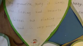 Little Red Riding Hood is Emilie's favourite.