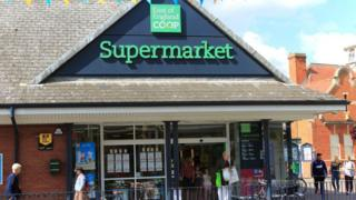 East of England Co-op store