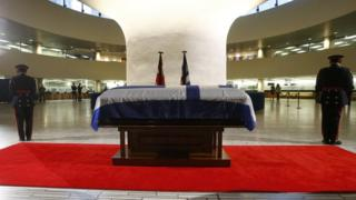 Rob Ford's casket