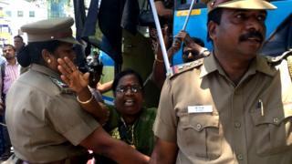 மோதி வருகைக்கு எதிர்ப்பு: சென்னையைக் குலுக்கிய கறுப்புக் கொடி போராட்டம்