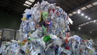 пластик у китай