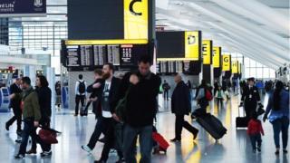 passengers at terminal 5