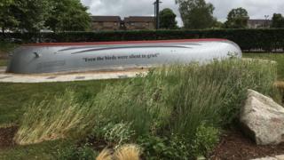 Famine memorial in Glasgow