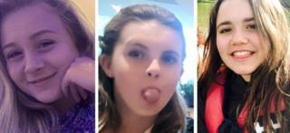 Three young girls all gone missing