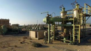 one of Libya oil field