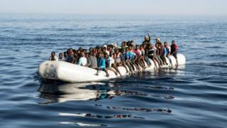 Migrant boats are regularly intercepted by the Libyan coastguard