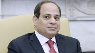 Shugaban kasar Masar Abdel Fattah el-Sisi