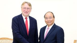 Bernd Lange gặp Thủ tướng Nguyễn Xuân Phúc