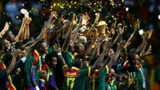 Cameroun itwaye igikombe ca Afrika ubugira gatanu
