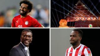 Mohamed Salah, pyramids, Clarence Seedorf, Saido Berahino