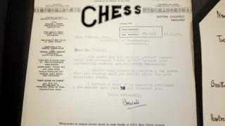 Turing letter