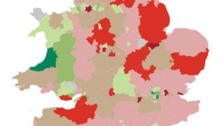 YouGov survey map of Euroscepticism