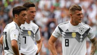 독일은 이날 멕시코를 상대로 26개의 슈팅을 했다