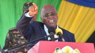 Rais wa Tanzania Dkt John Magufuli