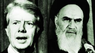 Jimmy Carter and Ayatollah Khomeini