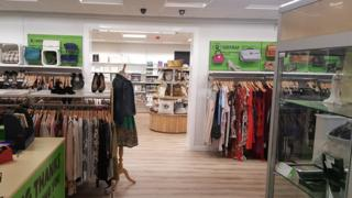 The Oxfam shop in Didsbury