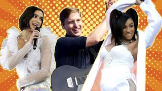 Dua Lipa, George Ezra and Cardi B