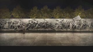 Ilustración del monumento a la Primera Guerra Mundial. (Ilustración: Comisión de la Primera Guerra Mundial)