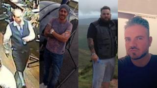 (L-R) Jason Cunliff, Kyle Lewis, David Alford, Darren Palmer