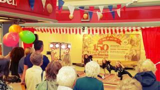 Dancers at Derby Market Hall celebrations