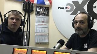 """Валерий Ремизов в студии радио """"Эхо Москвы"""" в Самаре"""