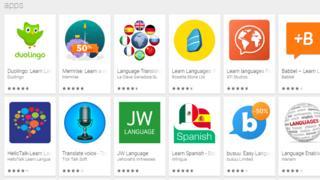 Apps de idiomas