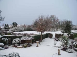 Snow in Redditch, Worcestershire