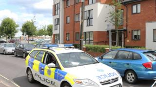 Crawley murder scene