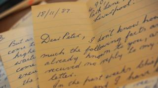 Letter to Peter Gould
