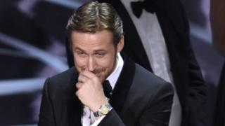 Ryan Gosling at the Oscars