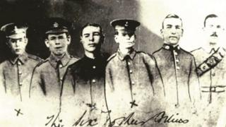 The six Collins brothers