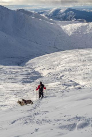 Southern Cairngorms on 29 January